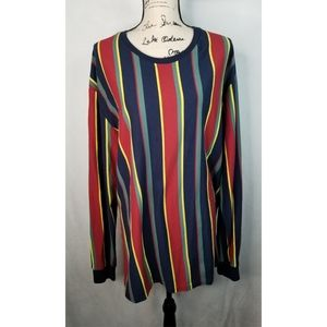 Pacsun vintage style striped long sleeve